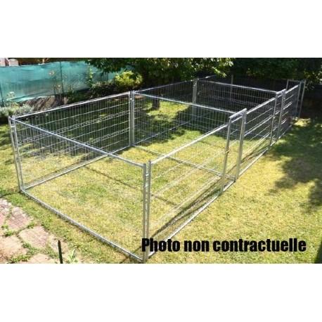 Rectangulaires triples ou accolés renforçé 3 fois 19 m² soit 57 m² (10,70 m x 5,35 m)