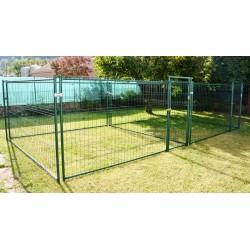 Double ou accolé 2 x 19 m², plastifié vert, soit 38 m² (7,15 m x 5,35 m) (les photos ne correspondent pas à ces dimensions, mais