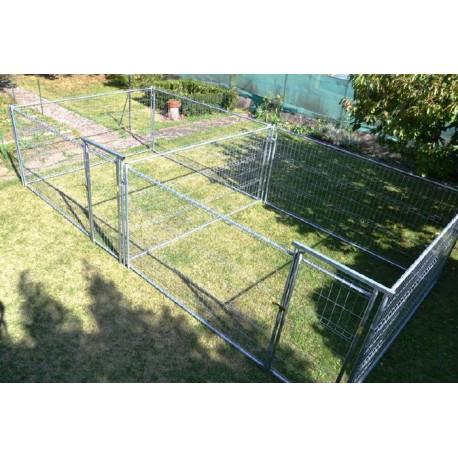 Rectangulaires doubles ou accolés renforçés 2 fois 9 m² soit 18 m² (7,15 m x 2,65 m)