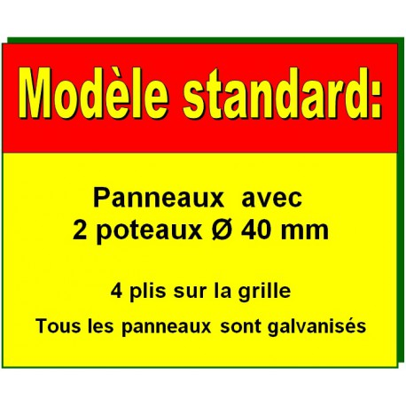 Description modèle standard