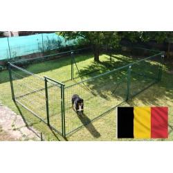 25 m² plastifié vert (3,60 m x 7,05 m) - LIVRAISON BELGIQUE