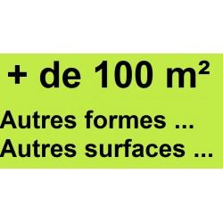 + de 100 m²