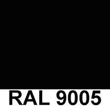 Noir RAL 9005 Sablé